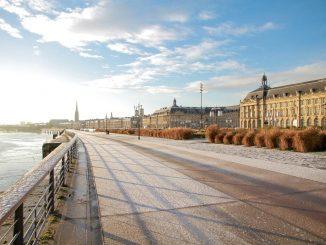 Bordeaux en trottinette